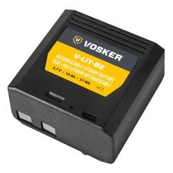 V-LIT-B2 -Extra Rechargeable Lithium Battery Pack For VOSKER V150 Mobile Security Cameras.