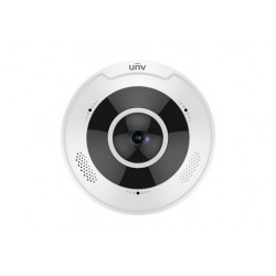 IPC868ER-VF18 – 12MP Fisheye 1.8MM Fixed Lens 10M IR Heatmap Function Mic and Speaker Built in